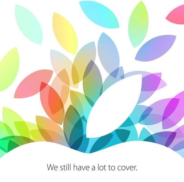 10/22 iPad 5, iPad mini Live 轉播播