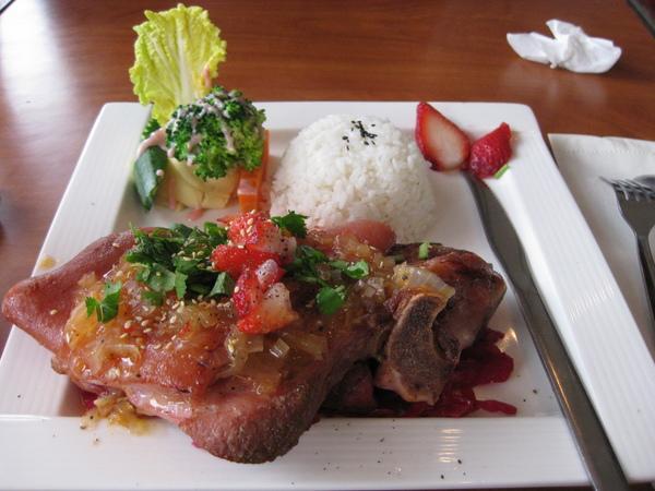 草莓德國豬腳