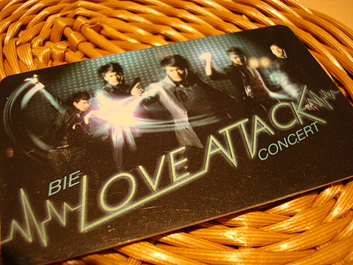 BIE the star Love Attack Concert 2008,May,24th