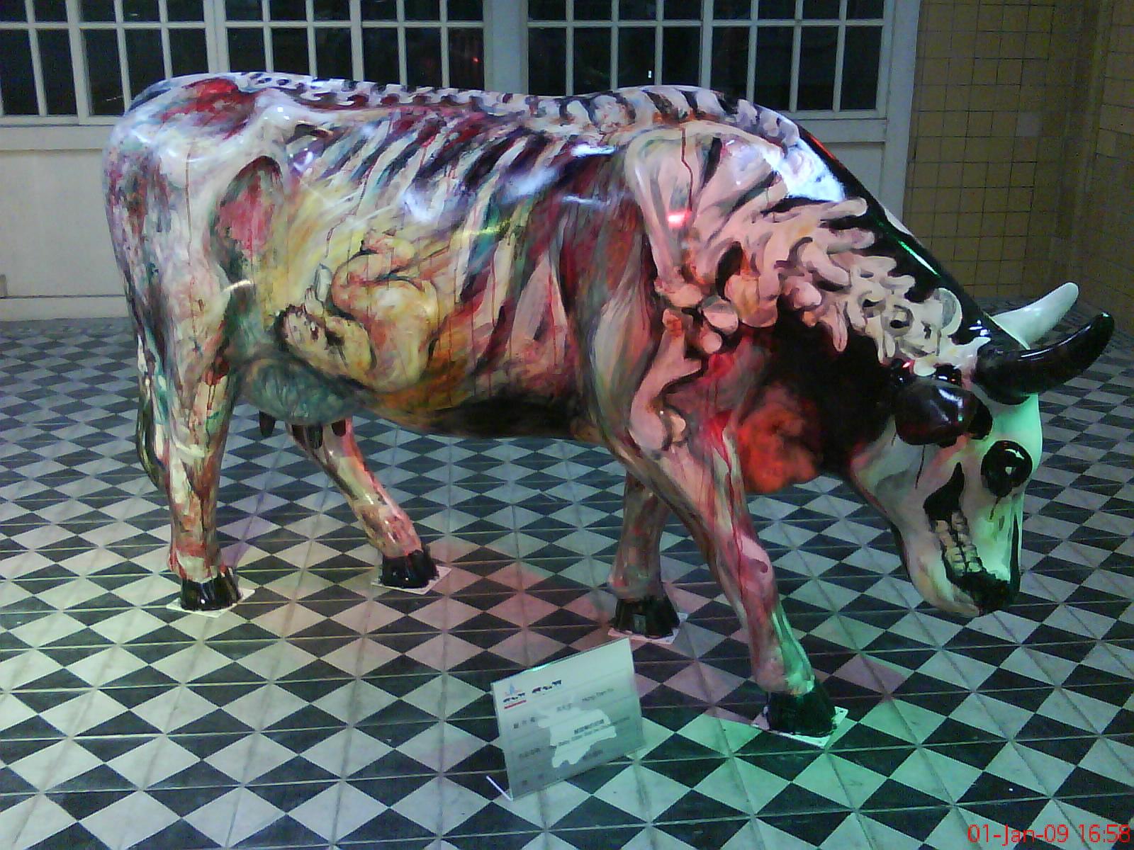 Cow parade Taipei