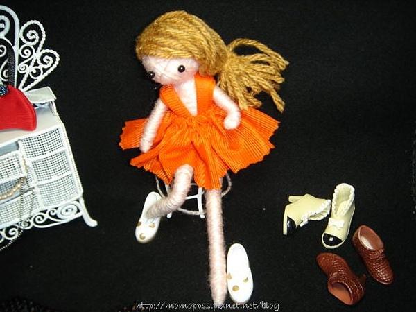 Кукла брелок своими руками