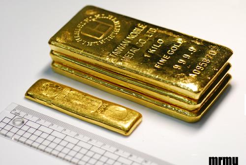 一公斤金塊