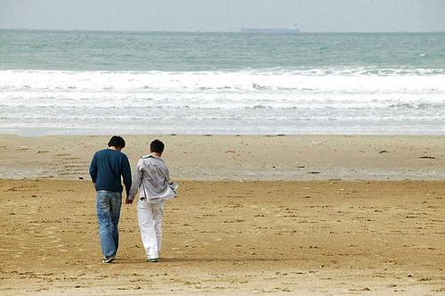 「愛,不悔」 第一次接觸後,兩人甜蜜出遊!