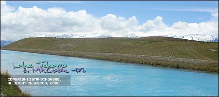 牛奶藍一般的神奇運河