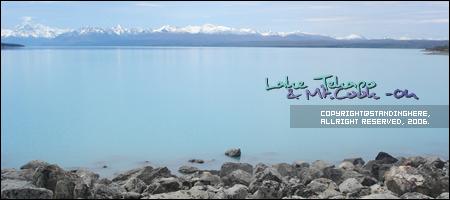 pukaki湖,夢幻般的藍